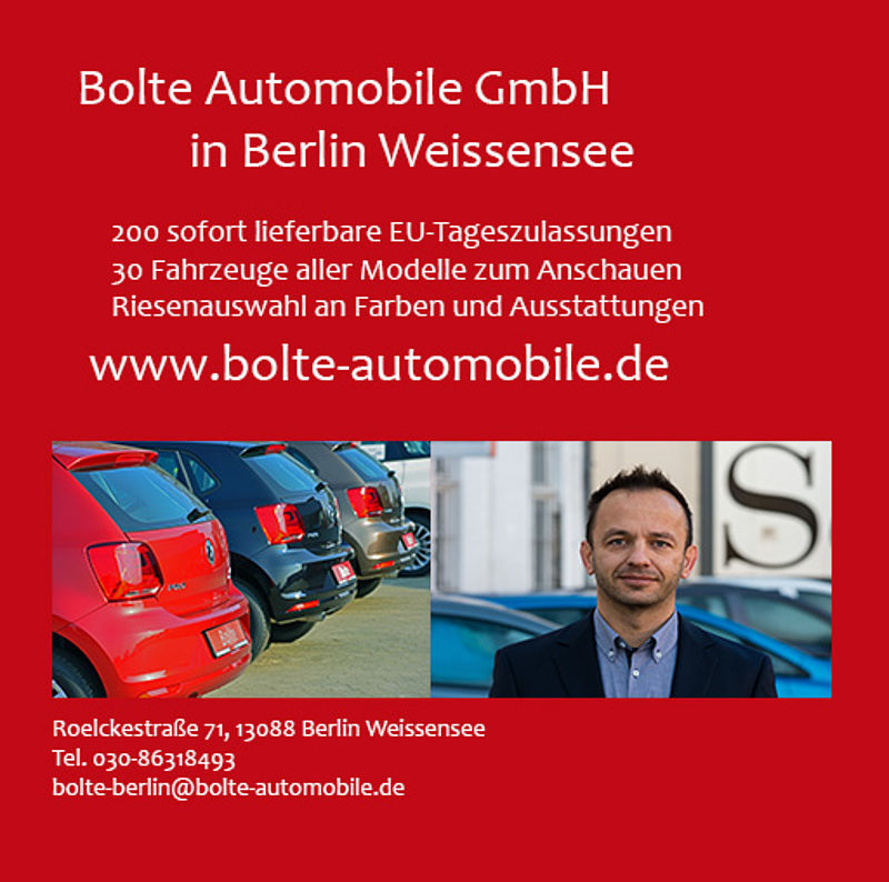 Bolte Automobile in Berlin Weissensee